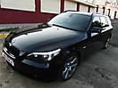 BMW 5 E61 стилизация молдингов под Shadow Line
