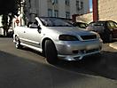 Тонировка оптики Opel Astra G