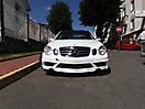 Жемчужный перламутр Mercedes E-klasse (W211)