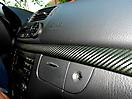 Оклейка салона Mercedes E-klasse (W211). Имитация под карбон