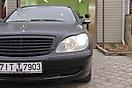 Mercedes S-klasse (W220) — оклейка в черный мат
