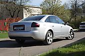 Тонировка оптики Audi A6
