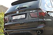 Тонировка оптики BMW X5 (E70)