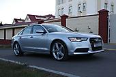 Антигравийная защита Audi A6. Защита капота и крыльев