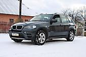 Антигравийная защита BMW X5 e70