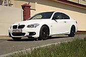 Оклейка белоснежный матовый оттенок BMW 3 e92