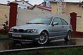 Имитация панорамной крыши BMW 3 (e46 coupe)