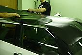 Okleyka krishi v cherniy matte Suzuki Swift_4