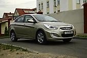 Антигравийная оклейка Hyundai Accent'14