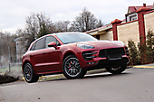 Антигравийная оклейка Porsche Macan Turbo
