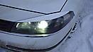 Стайлинг оптики на Renault Laguna (White)