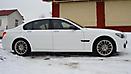 Оклейка в Белый матовый цвет BMW 7 (F01) x-drive_11