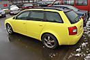 Имитация панорамной крыши Audi A4 Avant _6