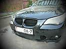 Оклейка молдингов BMW 5 (E60) под ShadowLine